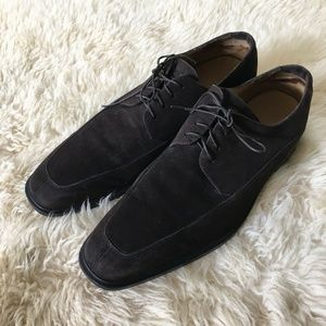 Cole Haan Chocolate Suede Air Shoes Size 12 M